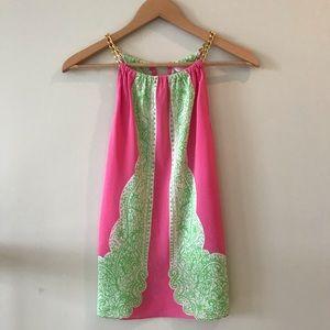 Lilly Pulitzer Riviera Silk Halter Top